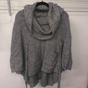 Over-Sized Chunky Knit Sweater with Pockets